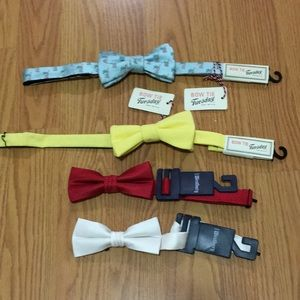 4 piece bow tie